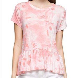 NWT Calvin Klein Jeans Tie-Dye Burst T-Shirt XL